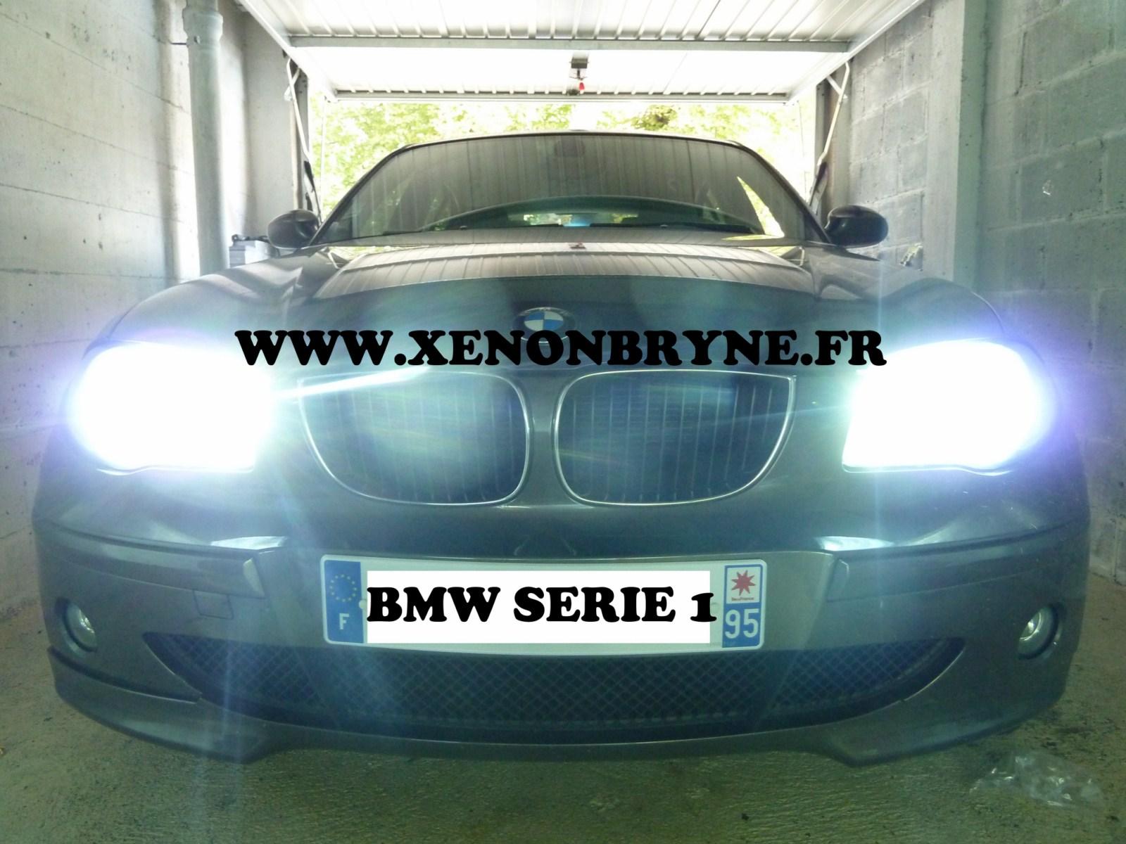 photo de réalisation de l'installation xenon sur BMW