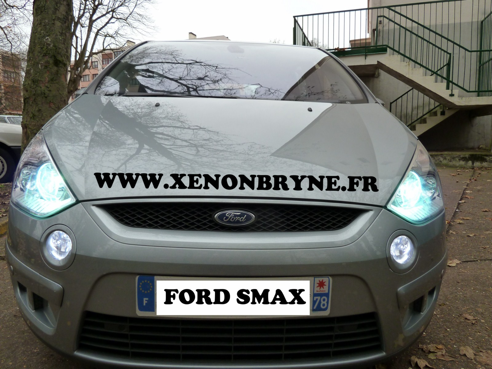 photo de réalisation de l'installation xenon sur for