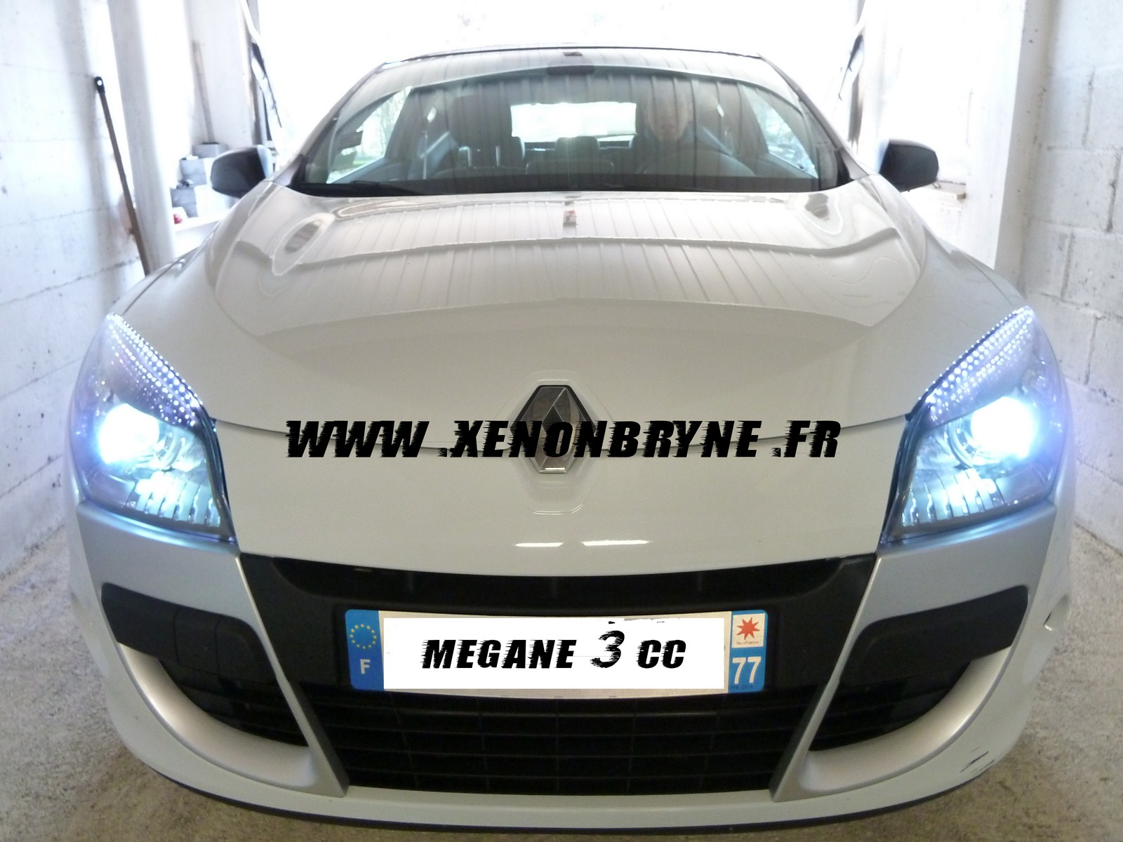 realisation photo kit xenon reanult megane 3
