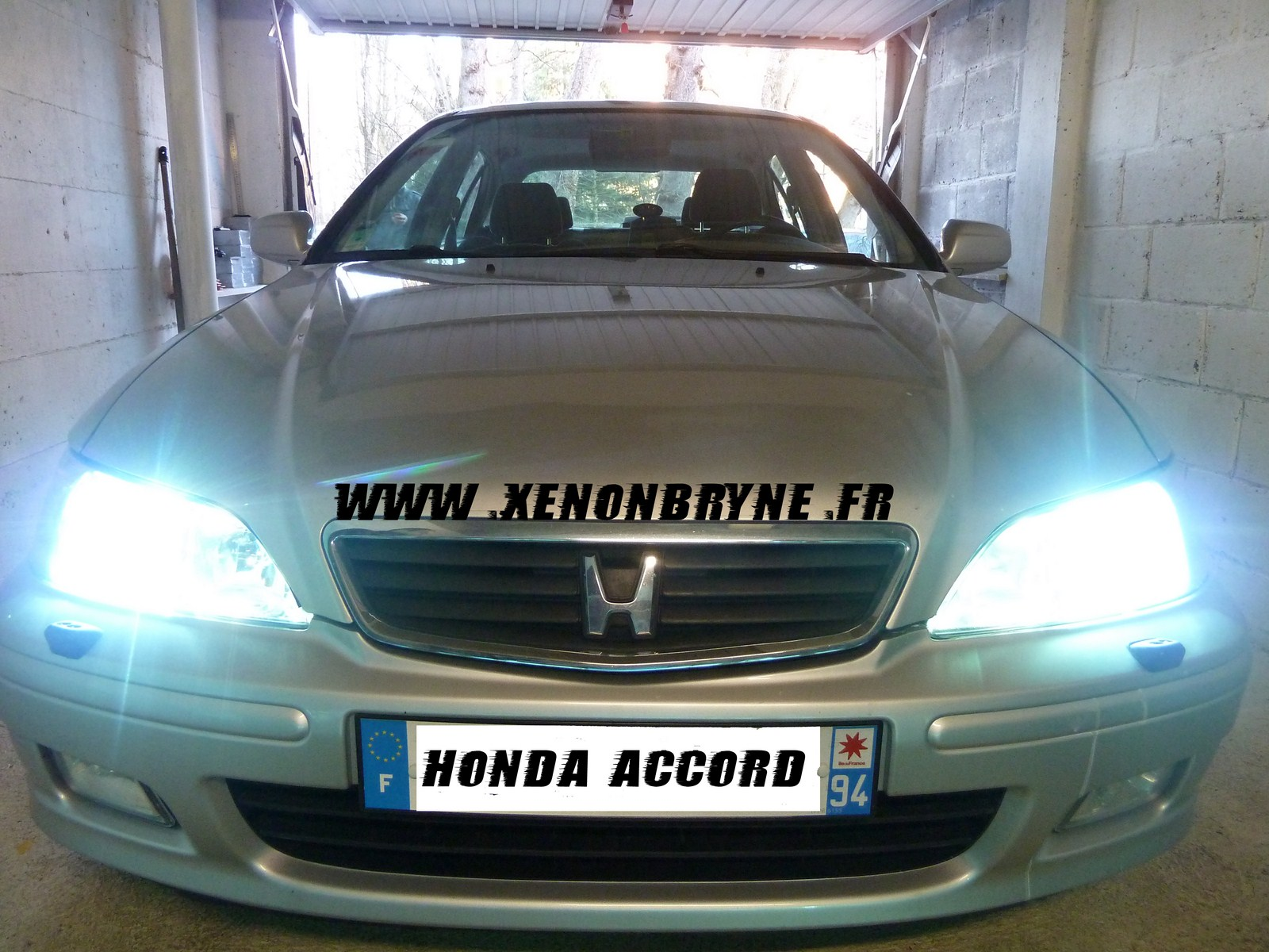 réalisation photo xenon sur honda accord